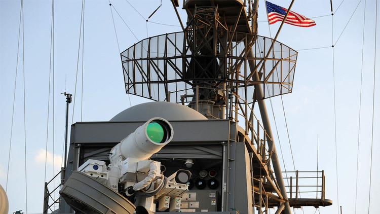 La Armada de EE.UU. quintuplica la potencia de su sistema de armas láser