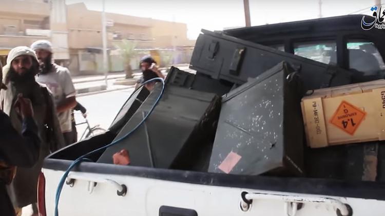 El Estado Islámico se hace con más armas de EE.UU. tras repeler un asalto de los rebeldes sirios