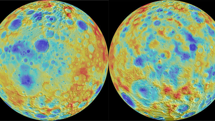 Los puntos luminosos de Ceres no son lo que se pensaba