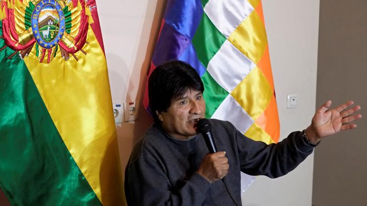 """Evo Morales: """"Chile da la imagen de un Israel latinoamericano"""""""