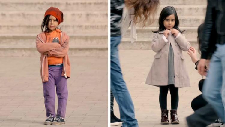 ¿Qué harías si vieras a esta niña de 6 años en la calle?