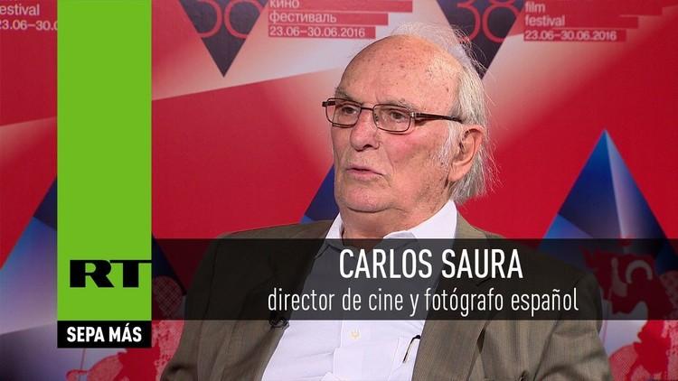 Entrevista con Carlos Saura, director de cine y fotógrafo español