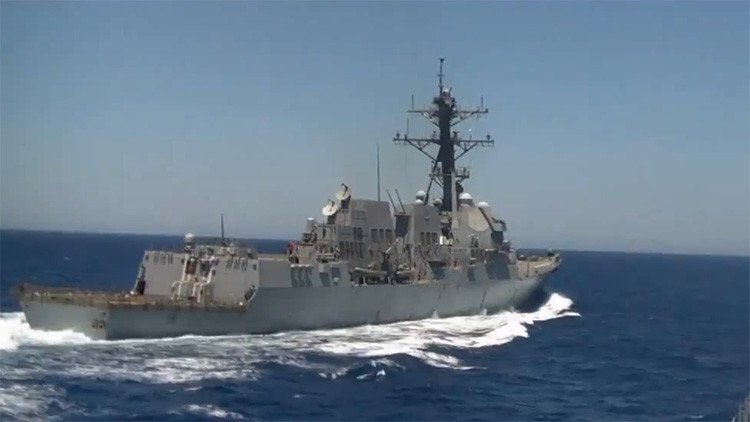 """Rusia pide a EE.UU. detener """"las actividades peligrosas"""" tras incidente en el Mediterráneo"""