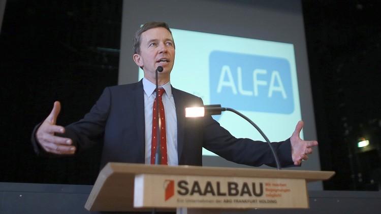 Exmiembro y fundador del partido Alternativa para Alemania Bernd Lucke