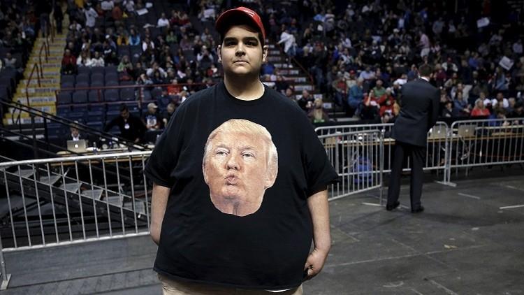 Un potencial votante por Donald Trump