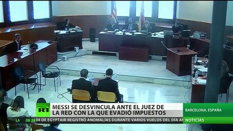 Messi, sobre el juicio por fraude fiscal: