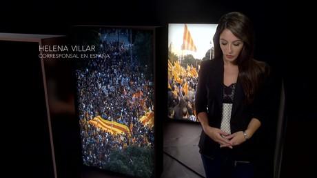 Helena Villar, corresponsal en España