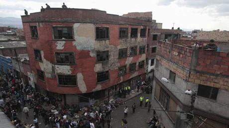 """El """"Bronx"""" de Bogotá, Colombia"""