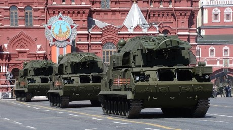 Complejos de misiles antiaéreos Tor-M2U del Ejército ruso