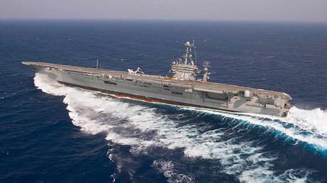 El portaaviones de Estados Unidos Harry S. Truman