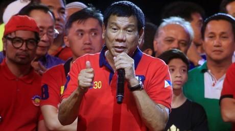 El presidente electo de Filipinas, Rodrigo Duterte