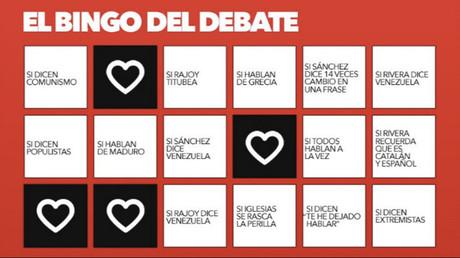 Bingo of Izquierda Unida