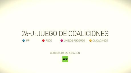 (PROMO) Elecciones generales en España 2016: Juego de coaliciones