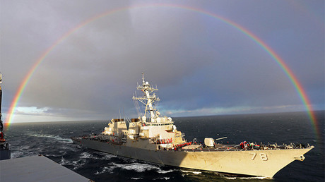 Destructor de misiles guiados USS Porter