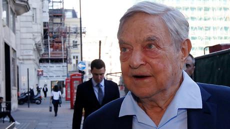 El magnate George Soros llega a The Open Russian Club en Londres (Reino Unido) el 20 de junio de 2016.