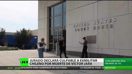 Declaran culpable a un exmilitar chileno por la muerte de Víctor Jara