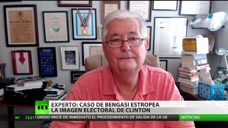 """""""El caso de Bengasi estropea la imagen electoral de Hillary Clinton"""""""