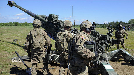 Ejercicios Saber Strike de la OTAN en Estonia
