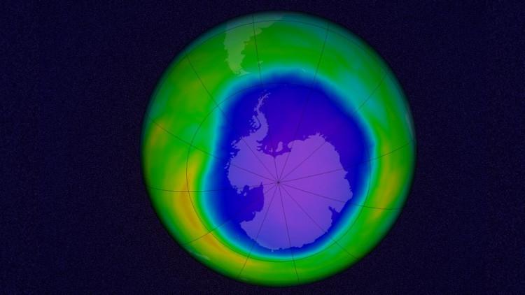 """La capa de ozono muestra los primeros signos de """"curación"""" en la Antártida"""