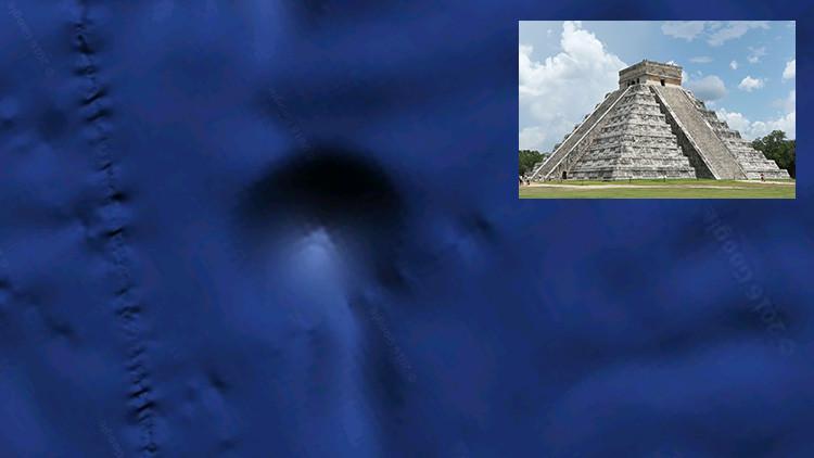 """Un argentino descubre una """"pirámide perfecta"""" en el fondo del Pacífico"""