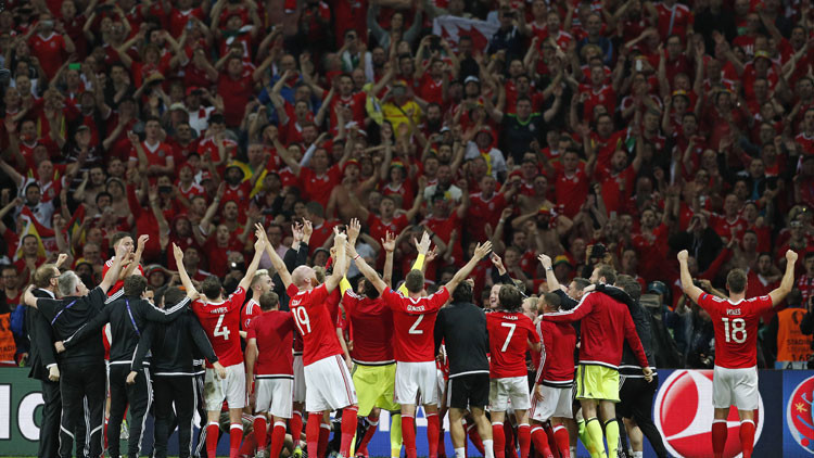 Gales venció a Bélgica por los cuartos de final de la Eurocopa