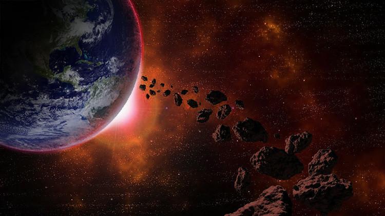 Resultado de imagen de La Tierra envuelta en Polvo durante meses por la caida de un meteorito