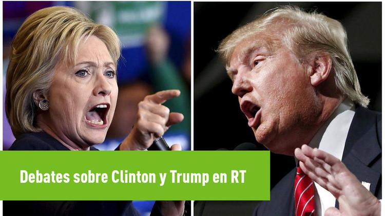 Debates sobre Clinton y Trump en RT: Expertos explican por qué ganan los que 'no gustan'