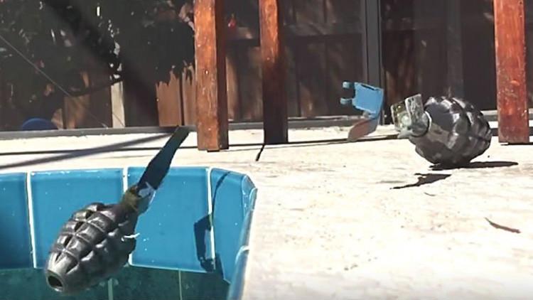 Video: Cómo sobrevivir a la explosión de una granada