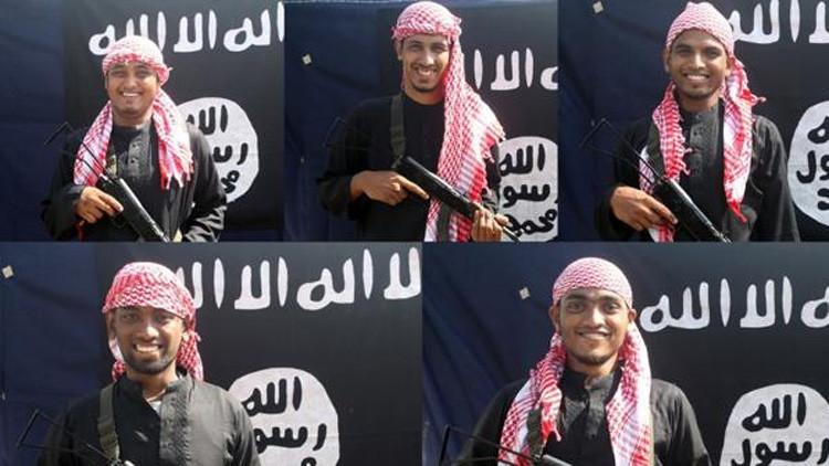 Sonrientes y armados: Así posaron los terroristas que mataron a 22 personas en Bangladés