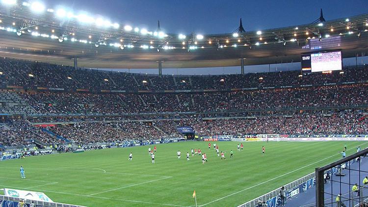 Se registra una fuerte explosión junto al 'Stade de France' horas antes del partido Francia-Islandia