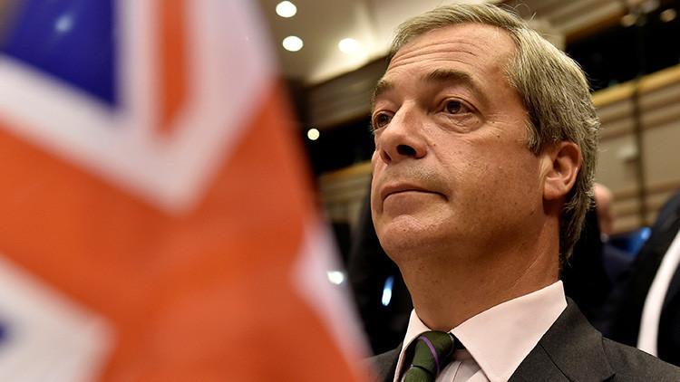Nigel Farage dimite como líder del Partido de la Independencia del Reino Unido