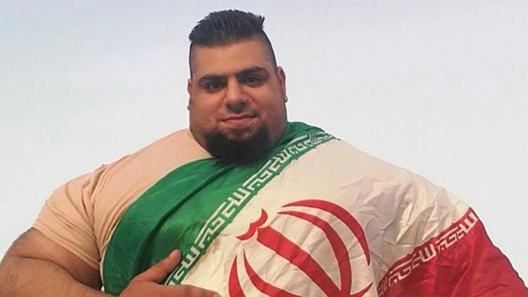 ¿Quién es el 'Hulk' iraní de 155 kilos que luchará contra el Estado Islámico? (FOTOS)