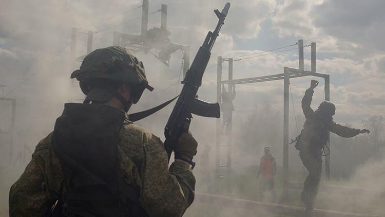 Como en 'Counter Strike': así se entrenan las Fuerzas de Respuesta Rápida rusas (VIDEO 360º)