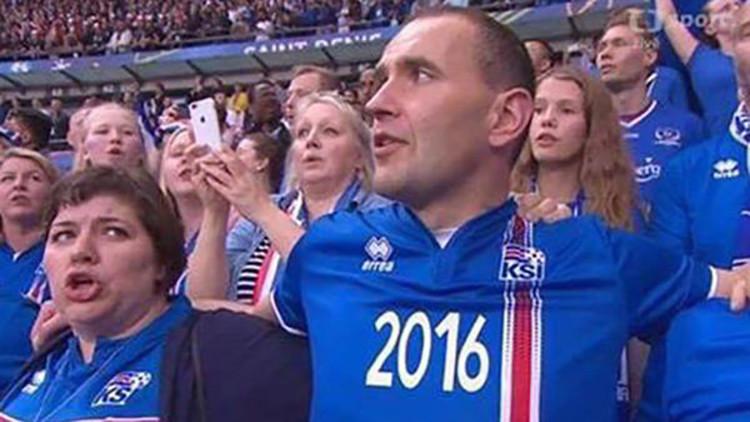 El fanático de la Selección de Islandia que se hizo viral en todo el mundo
