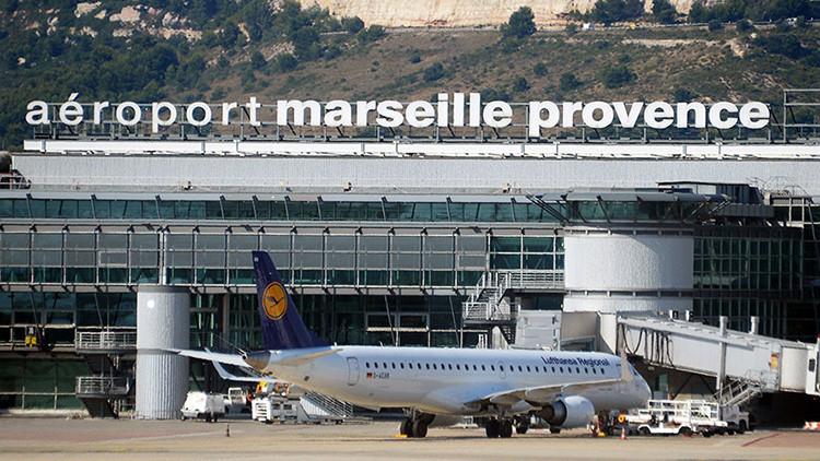 Evacuan el aeropuerto de Marsella