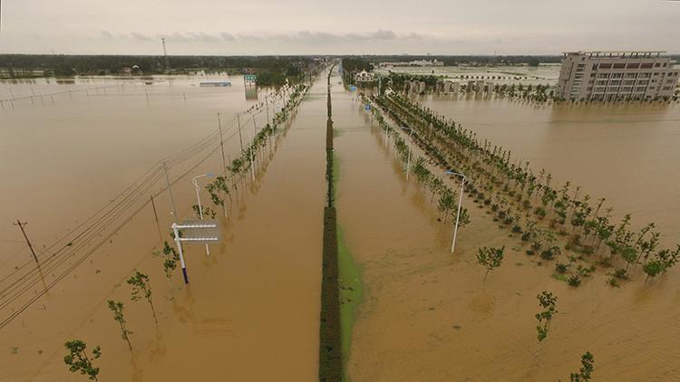 Las lluvias se saldan con casi 130 muertos y devastación agrícola en China