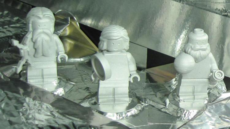 ¿Para qué la NASA envió una 'tripulación' de tres figuras de Lego a Júpiter?