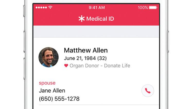 Apple instiga a los usuarios de iPhone a donar órganos