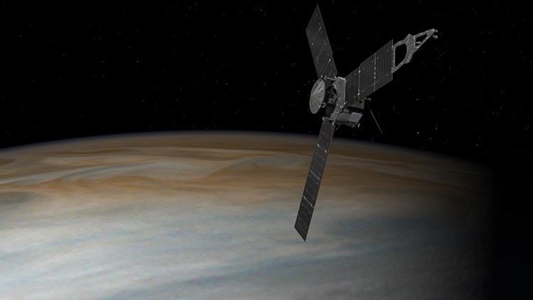 El éxito de la misión Juno de la NASA explicado en 3 gif