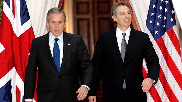 """""""Siempre suyo, Tony"""": Revelan la correspondencia privada de Tony Blair a George W. Bush"""