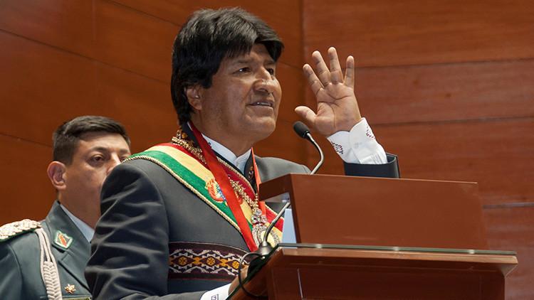 """Evo Morales: """"El imperio quiere resucitar el ALCA con la Alianza del Pacífico"""""""