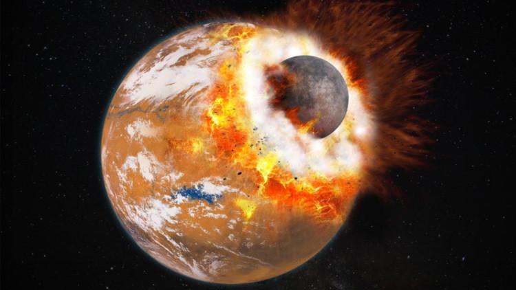Resuelven el misterio de por qué Marte tiene dos lunas