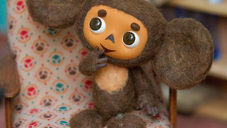 'Chebonauta': El principal personaje animado soviético parte al espacio en la Soyuz MS