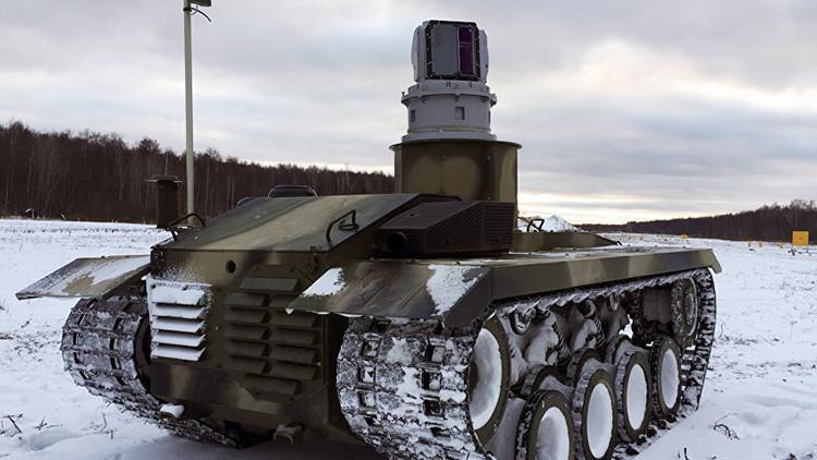 El robot ruso de combate Nerejta