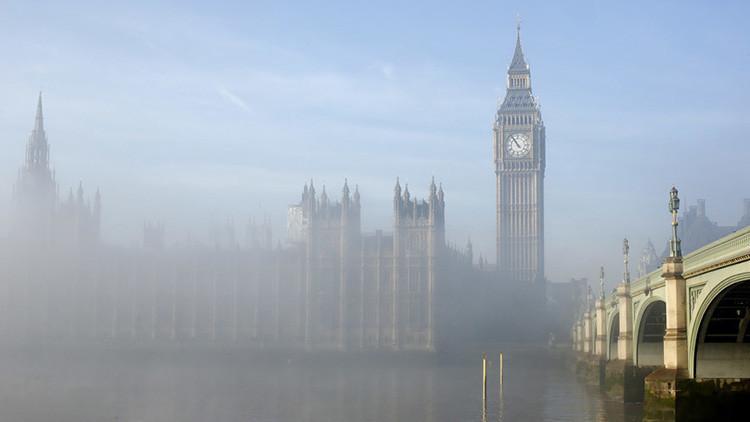 Reino Unido: cierran el Parlamento tras un 'incidente químico'