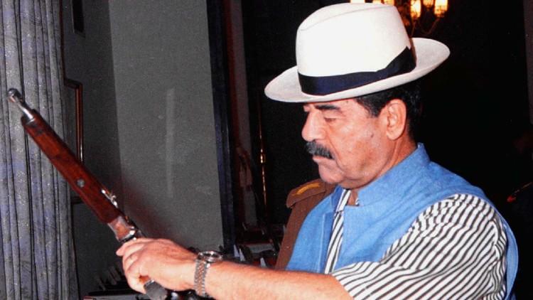 ¿Un Mauser de Saddam? Hallan en Rusia una pistola bañada en oro (FOTO)