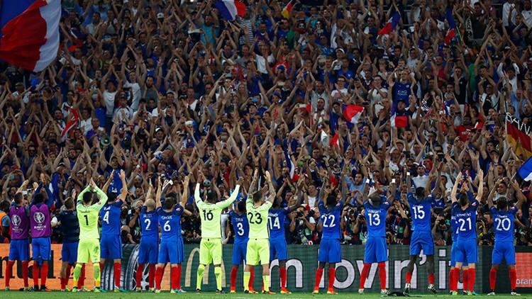 Francia y Portugal disputarán la final de la Eurocopa
