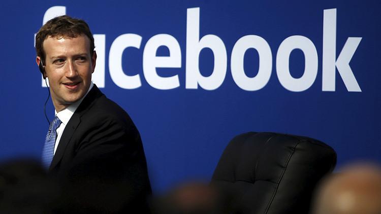 El director ejecutivo y fundador de Facebook, Mark Zuckerberg.