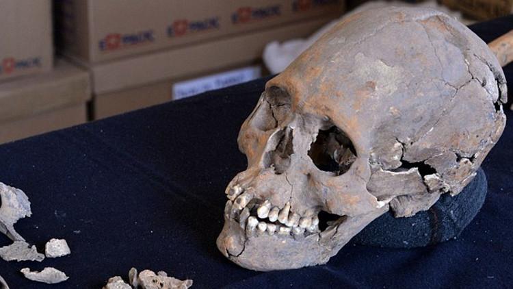 México: Hallan la Mujer de Tlailotlacan, un esqueleto con piritas incrustadas en los dientes (Fotos)