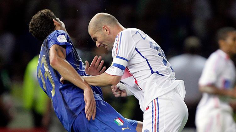 10 años después, Materazzi confiesa qué le dijo a Zidane en la final de la Copa del Mundo de 2006